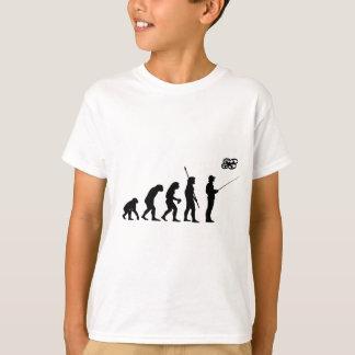 Camiseta Evolução do insecto do quadrilátero