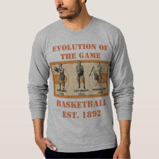 Camiseta Evolução do jogo--Basquetebol