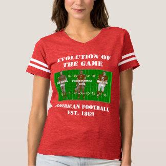 Camiseta Evolução do jogo--Futebol americano