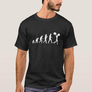 Camiseta Evolução do levantamento de peso