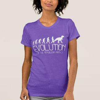 Camiseta Evolução do Partido Republicano - - Pro-Ciência