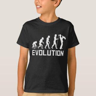 Camiseta Evolução do saxofone