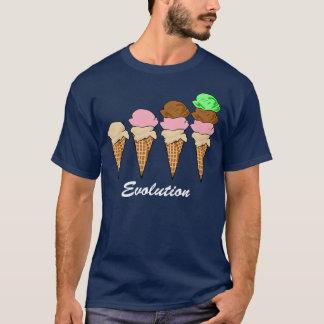 Camiseta Evolução do sorvete
