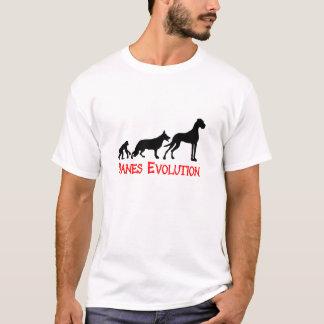 Camiseta Evolução dos dinamarqueses