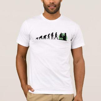 Camiseta Evolução humana: Pianista