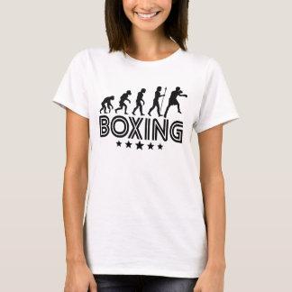 Camiseta Evolução retro do encaixotamento