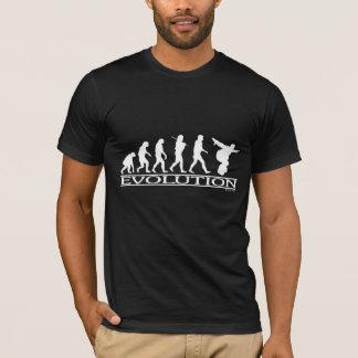 Camiseta Evolução - snowboarding
