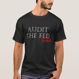 Camiseta Examine a fraude