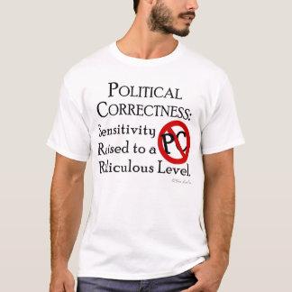 Camiseta Exatidão política: