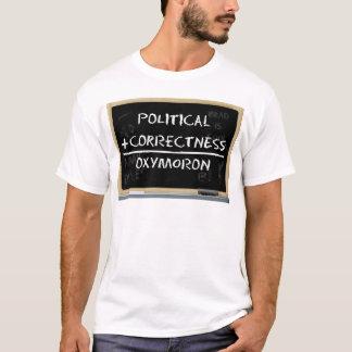 Camiseta Exatidão política?