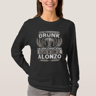 Camiseta Excelente a ser t-shirt de ALONZO