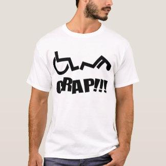 Camiseta Excremento da cadeira de roda oh!