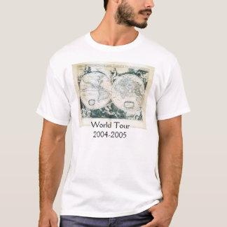 Camiseta Excursão 2004-2005 do mundo de Julianne