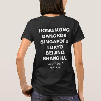 Camiseta Excursão cidade do costume de Hong Kong de Ásia,