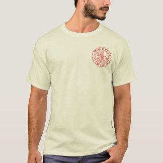 Camiseta Excursão de Templar Médio Oriente dos cavaleiros