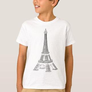 Camiseta excursão Eiffel