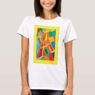 Camiseta Excursão Eiffel do La por Robert Delaunay