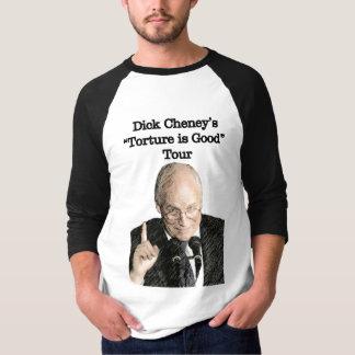 Camiseta Excursão T da tortura de Dick Cheney