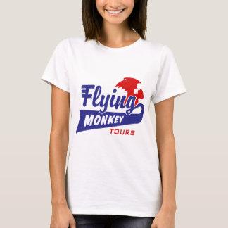 Camiseta Excursões do macaco do vôo