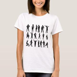 Camiseta Executivos da silhueta ajustados