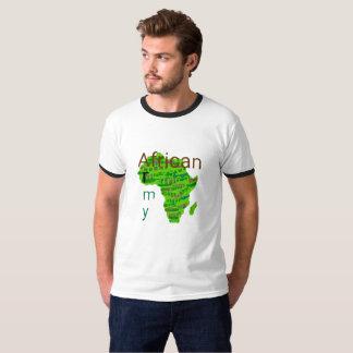 Camiseta Exército africano