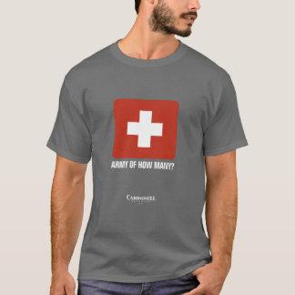 Camiseta Exército de quanto?