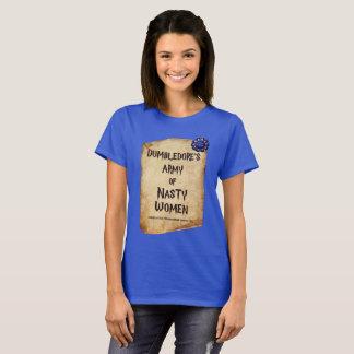 Camiseta Exército desagradável das mulheres