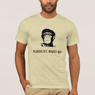 Camiseta Exército do macaco de Mclaughlin