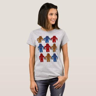 Camiseta Exército do robô