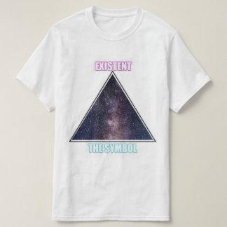 Camiseta Existente o símbolo