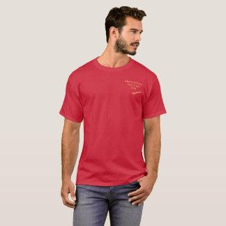 Camiseta Experimentações de campo 2018 da robótica da