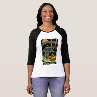 Camiseta Exploradores de Marte - os fazendeiros quiseram o
