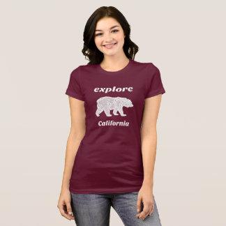 Camiseta Explore a natureza de Forrest do urso de