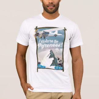 Camiseta Explore as montanhas do europeu de Pyrenees
