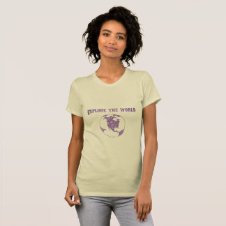 Camiseta Explore o mundo