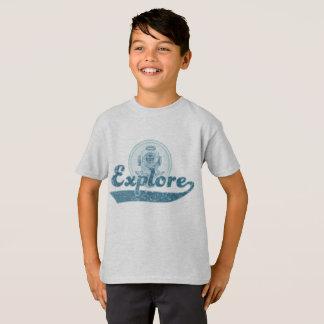 Camiseta Explore o t-shirt náutico