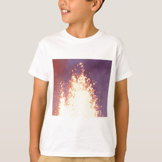 Camiseta explosão do fogo