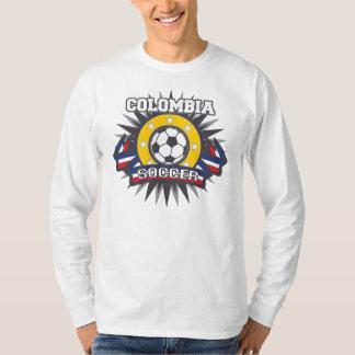 Camiseta Explosão do futebol de Colômbia