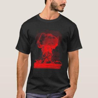 Camiseta Explosão nuclear