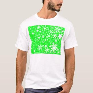 Camiseta Explosão verde do Natal