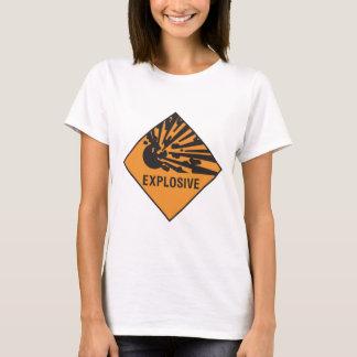 Camiseta Explosivo - punho com cuidado