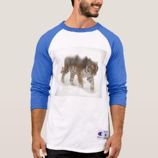 Camiseta Exposição-animais selvagens tigre-Tigre-dobro