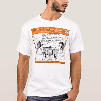 Camiseta Exposição movente do mapa