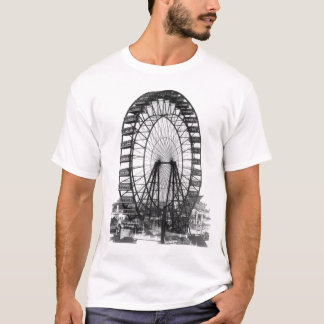 Camiseta Exposição universal de Chicago da roda de Ferris
