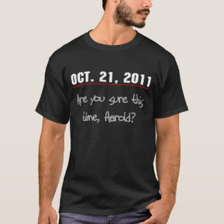 Camiseta Êxtase design do 21 de outubro de 2011