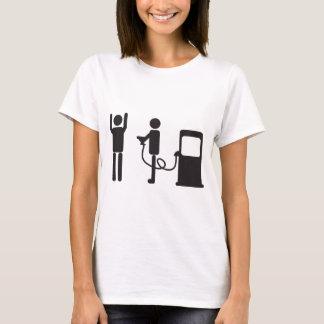 Camiseta Extorsão da bomba de gás