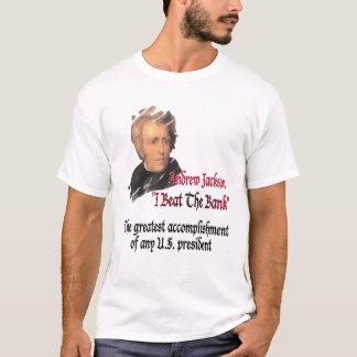 Camiseta Extremidade de Andrew Jackson o Fed