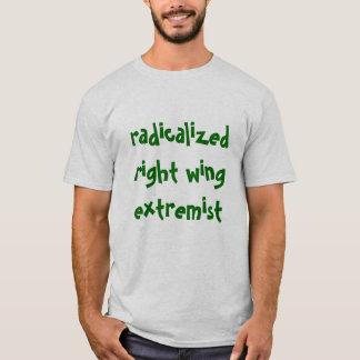 Camiseta Extremista radicalizado do direita