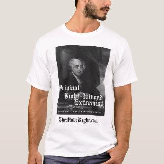 Camiseta Extremista voado adequado original