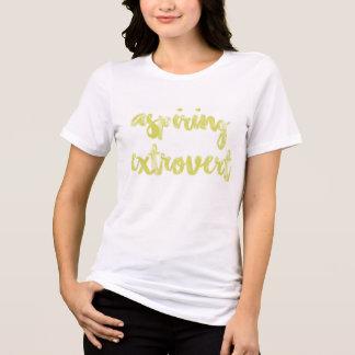 Camiseta Extrovert de aspiração
